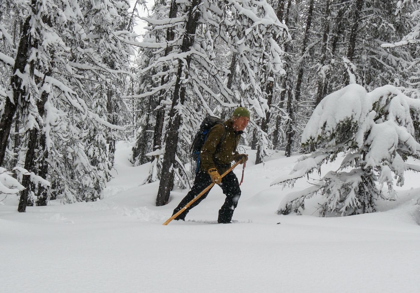 Nils Larsen – Skishoeing